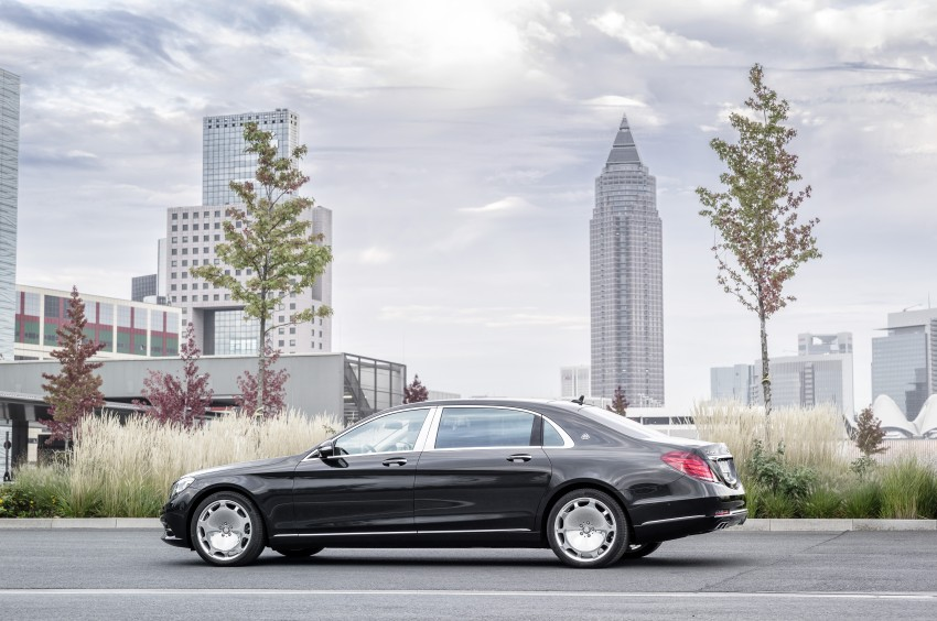 Mercedes-Maybach S 600 – all about the wheelbase! Image #289391