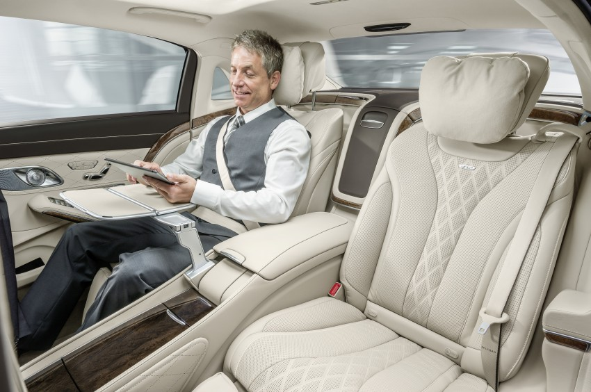 Mercedes-Maybach S 600 – all about the wheelbase! Image #289390