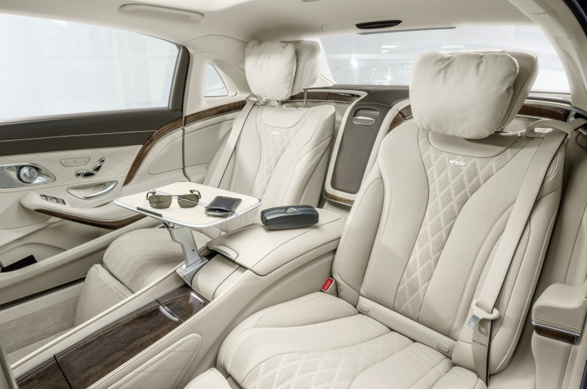 Mercedes-Maybach S 600 – all about the wheelbase! Image #289409