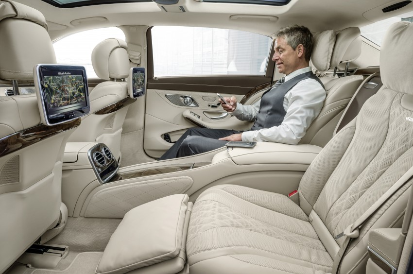 Mercedes-Maybach S 600 – all about the wheelbase! Image #289393