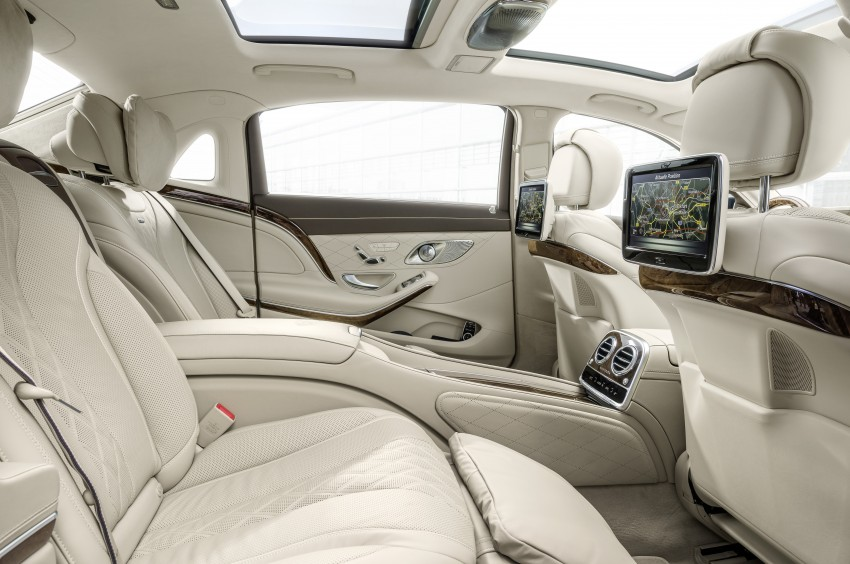 Mercedes-Maybach S 600 – all about the wheelbase! Image #289407