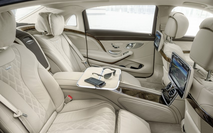 Mercedes-Maybach S 600 – all about the wheelbase! Image #289399