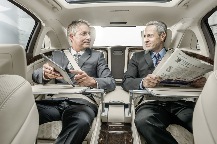 Mercedes-Maybach S 600 – all about the wheelbase! Image #289392