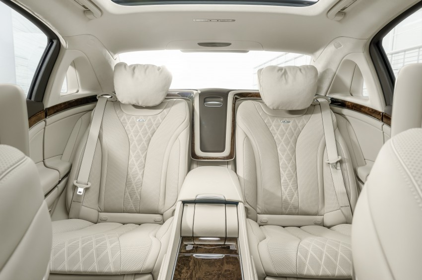 Mercedes-Maybach S 600 – all about the wheelbase! Image #289405