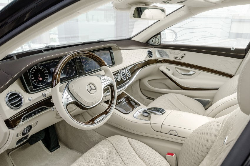 Mercedes-Maybach S 600 – all about the wheelbase! Image #289406
