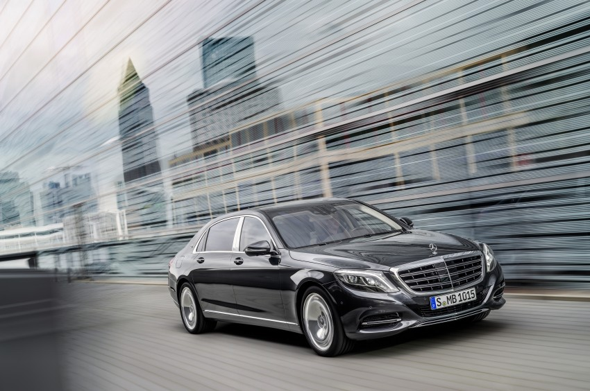 Mercedes-Maybach S 600 – all about the wheelbase! Image #289389