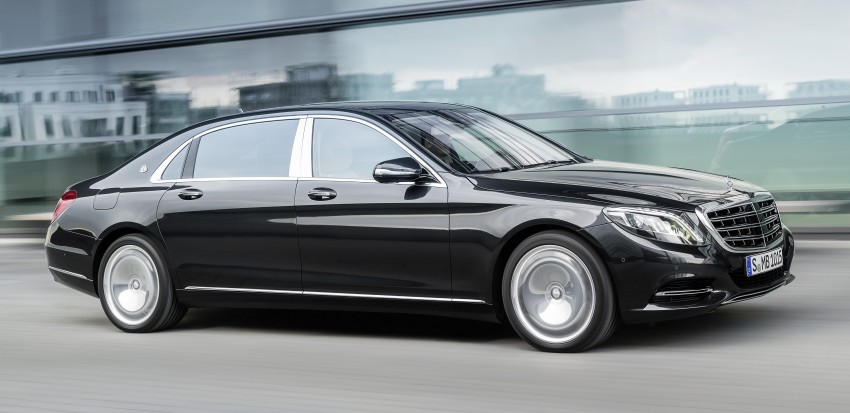 Mercedes-Maybach S 600 – all about the wheelbase! Image #289415
