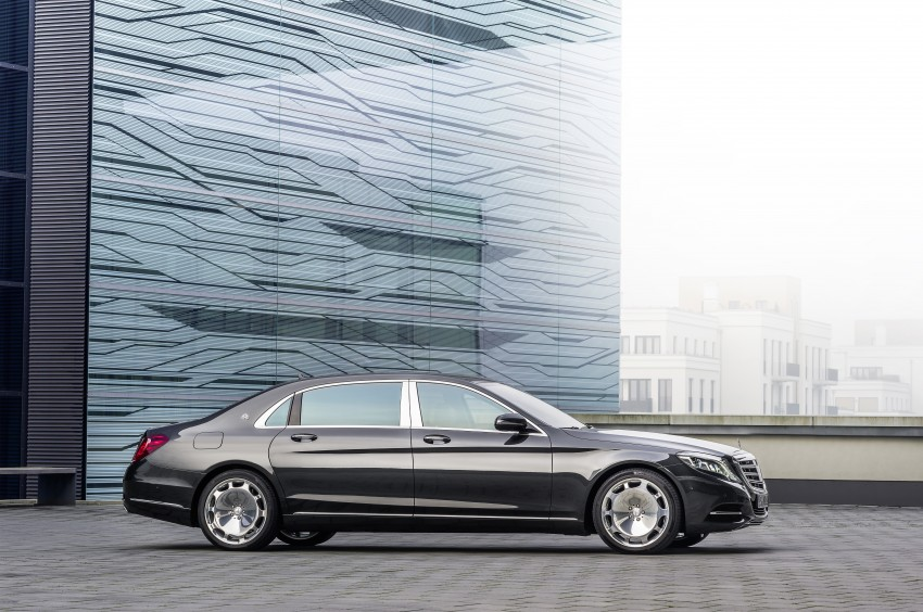 Mercedes-Maybach S 600 – all about the wheelbase! Image #289388