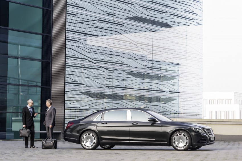 Mercedes-Maybach S 600 – all about the wheelbase! Image #289383