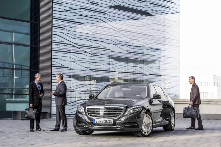 Mercedes-Maybach S 600 – all about the wheelbase! Image #289401