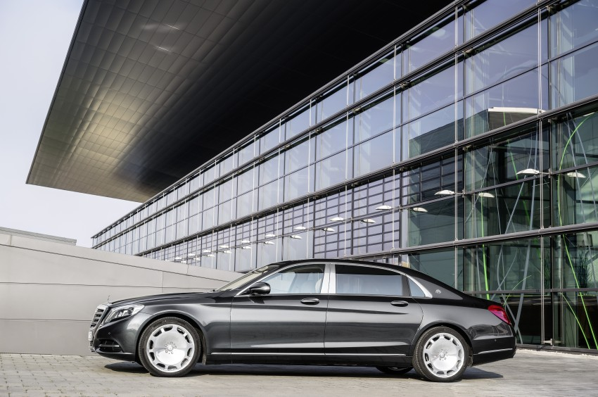 Mercedes-Maybach S 600 – all about the wheelbase! Image #289397
