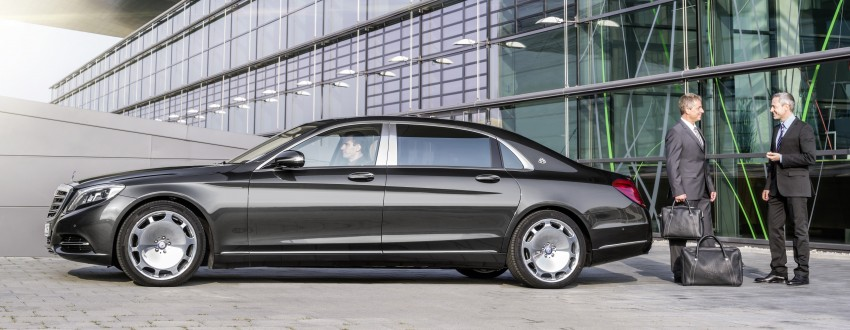 Mercedes-Maybach S 600 – all about the wheelbase! Image #289417