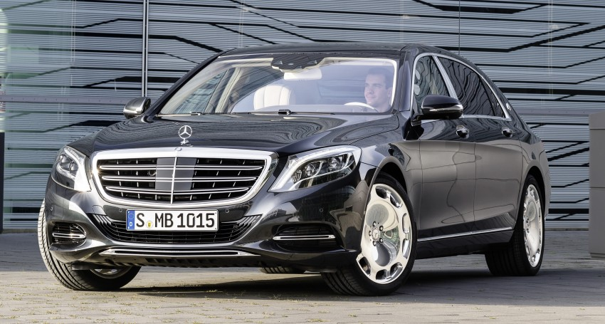 Mercedes-Maybach S 600 – all about the wheelbase! Image #289384