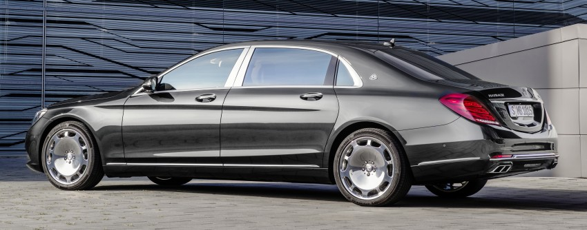 Mercedes-Maybach S 600 – all about the wheelbase! Image #289382