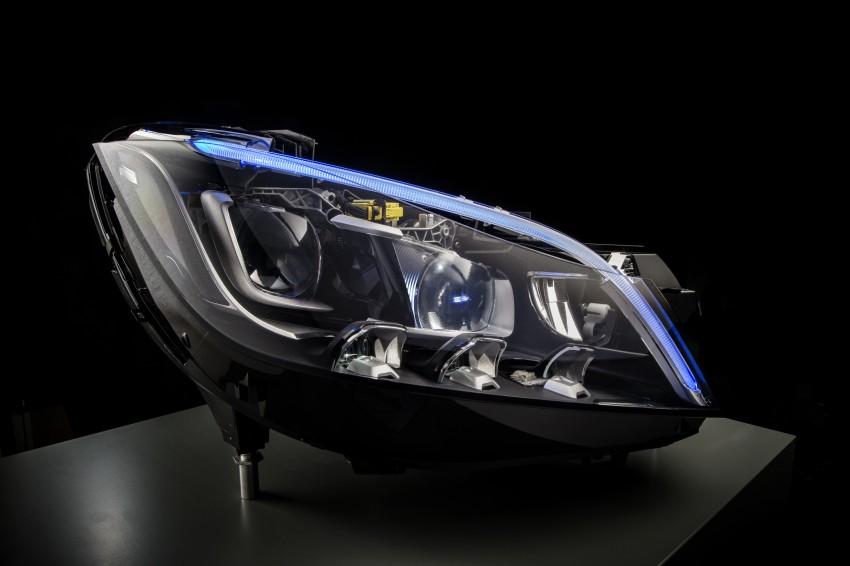 Mercedes-Benz unveils 84-LED Multibeam headlight Image #288387