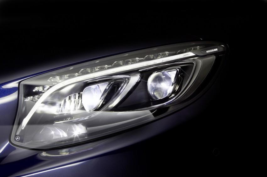 Mercedes-Benz unveils 84-LED Multibeam headlight Image #288390