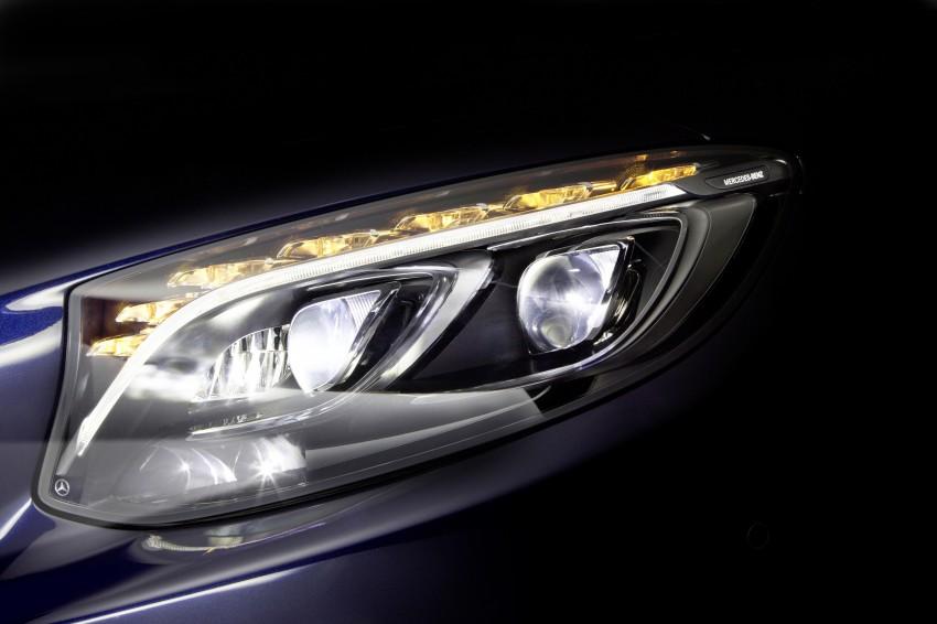 Mercedes-Benz unveils 84-LED Multibeam headlight Image #288391