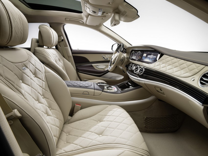 Mercedes-Maybach S 600 – all about the wheelbase! Image #289395