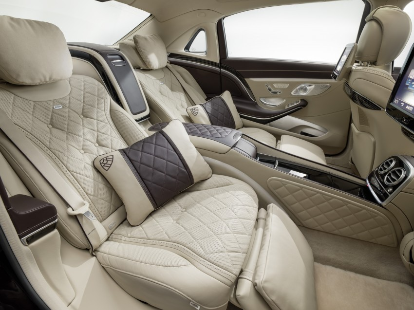 Mercedes-Maybach S 600 – all about the wheelbase! Image #289398
