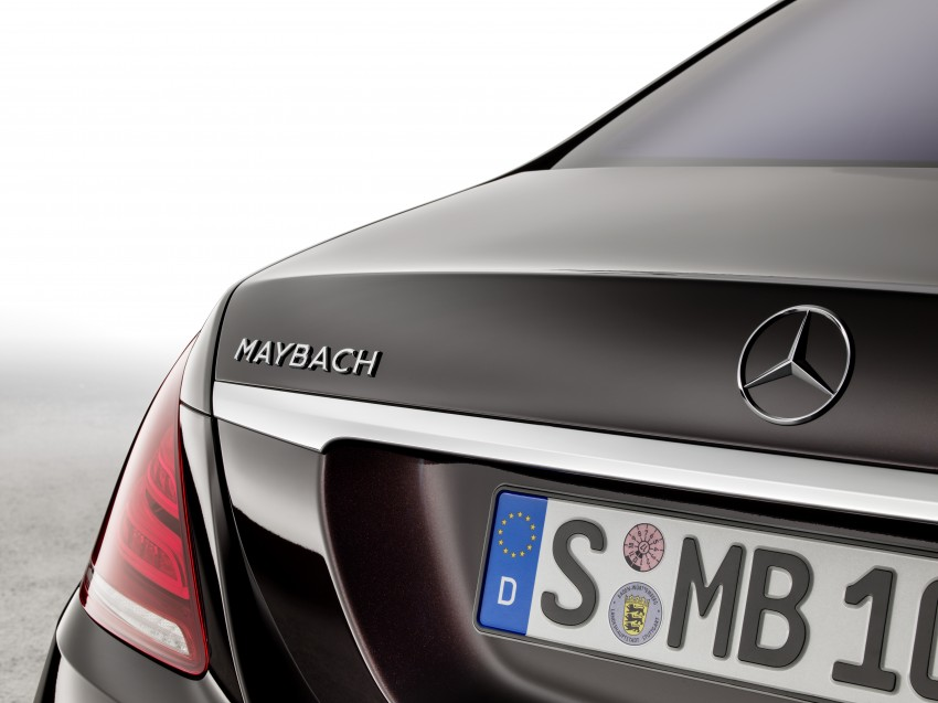 Mercedes-Maybach S 600 – all about the wheelbase! Image #289427
