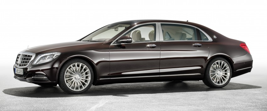 Mercedes-Maybach S 600 – all about the wheelbase! Image #289404