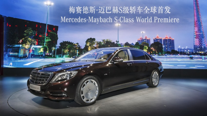 Mercedes-Maybach S 600 – all about the wheelbase! Image #289433