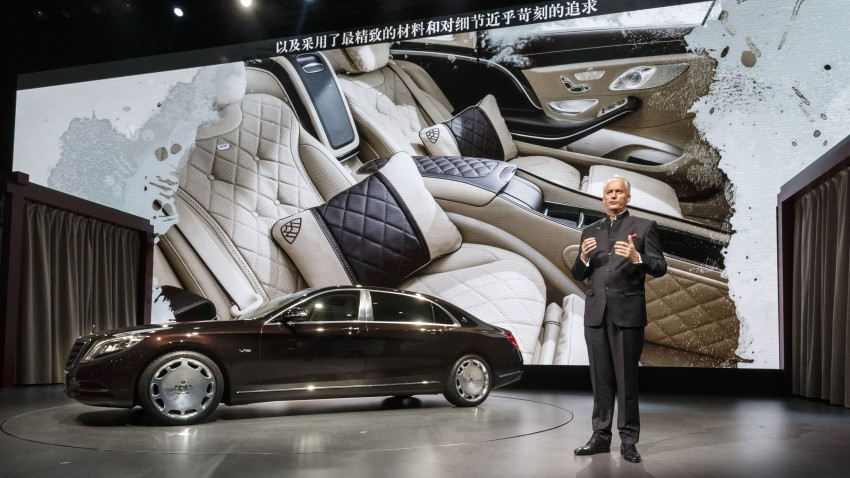 Mercedes-Maybach S 600 – all about the wheelbase! Image #289434
