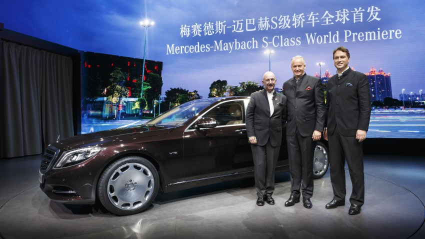 Mercedes-Maybach S 600 – all about the wheelbase! Image #289435