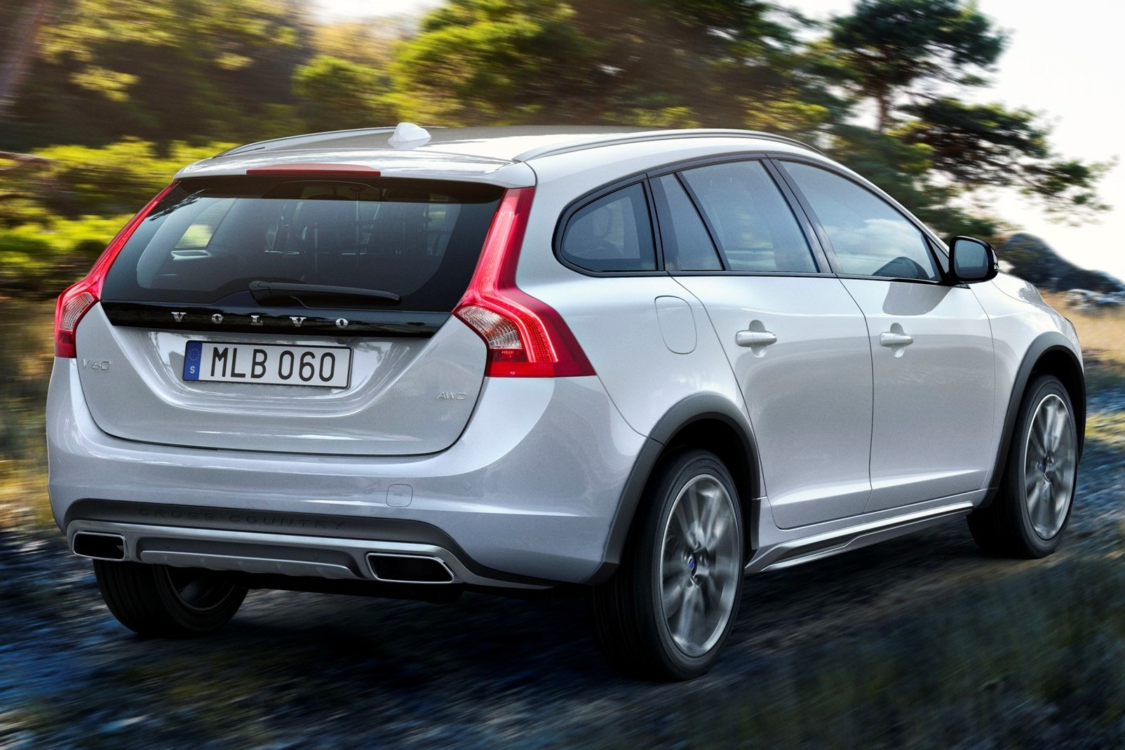 Volvo V60 Cross Country New Rugged Wagon Revealed Paul