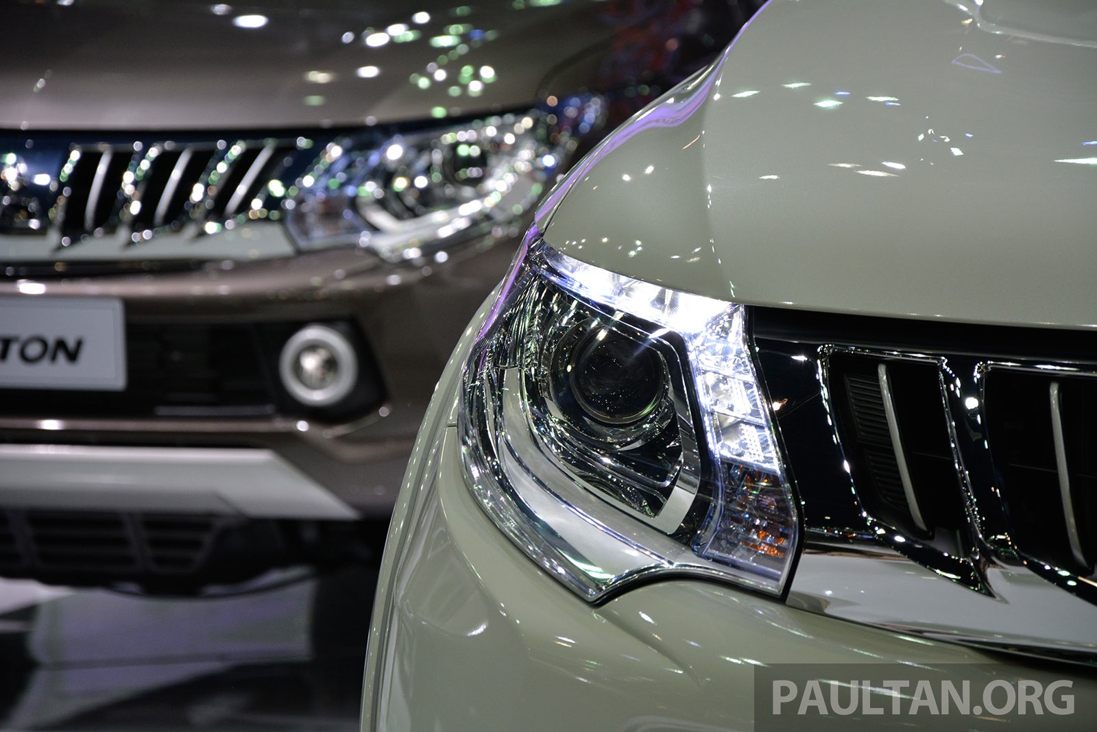 Back to Story: 2015 Mitsubishi Triton shows up at Thai Motor Expo