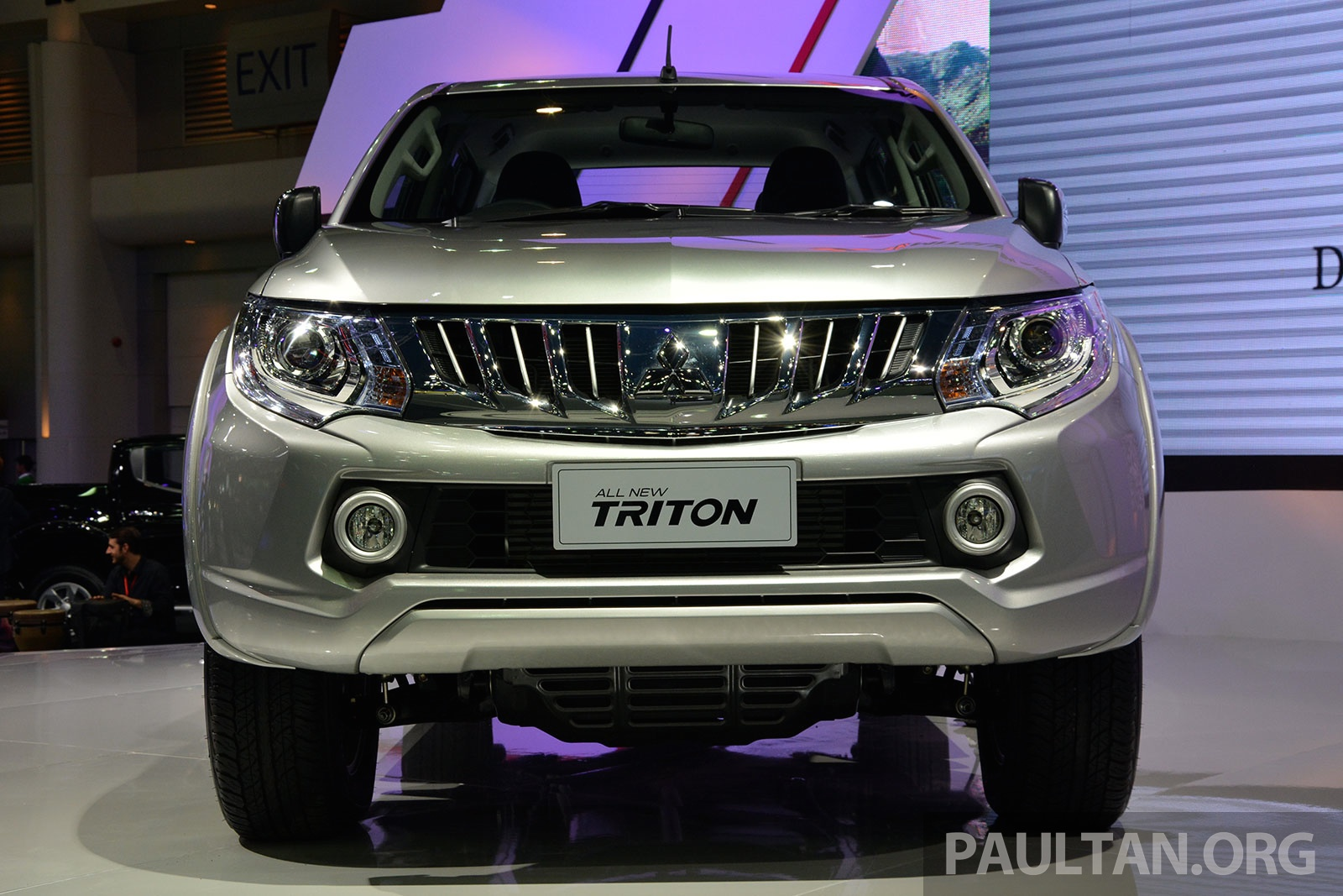Back to story 2015 mitsubishi triton shows up at thai motor expo