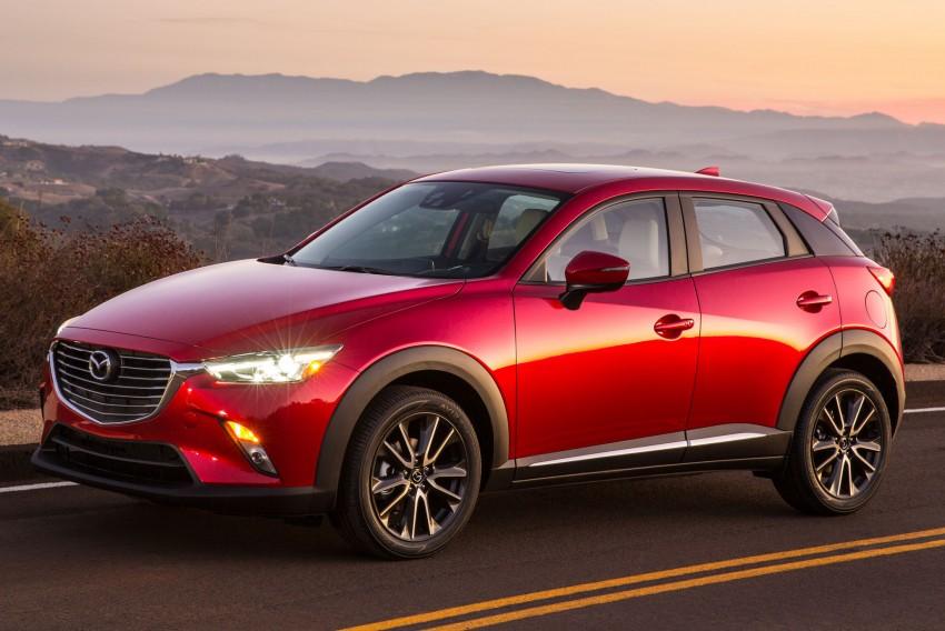 Mazda CX-3 – new B-segment SUV officially unveiled Image #289165