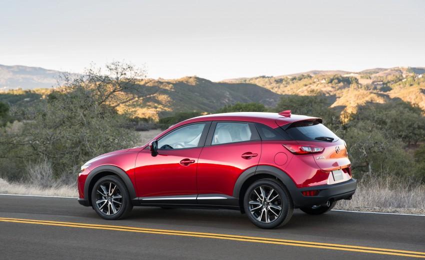 Mazda CX-3 – new B-segment SUV officially unveiled Image #289166