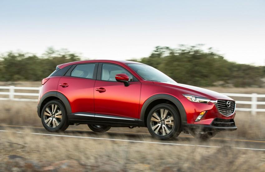 Mazda CX-3 – new B-segment SUV officially unveiled Image #289167