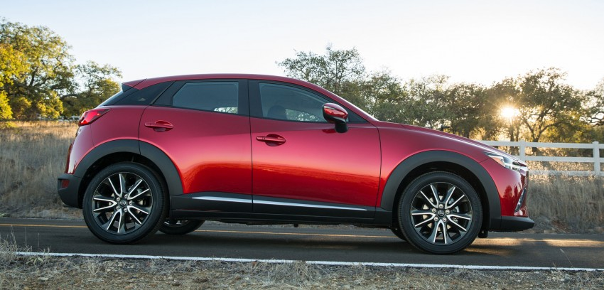Mazda CX-3 – new B-segment SUV officially unveiled Image #289168