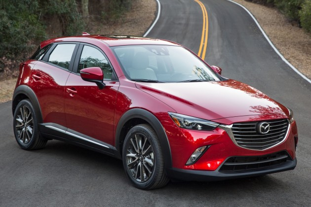 mazda cx 3 new b segment suv officially unveiled. Black Bedroom Furniture Sets. Home Design Ideas