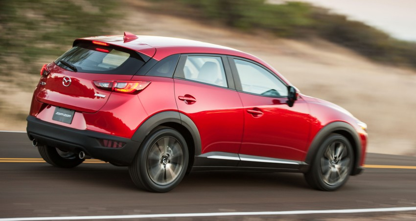 Mazda CX-3 – new B-segment SUV officially unveiled Image #289171