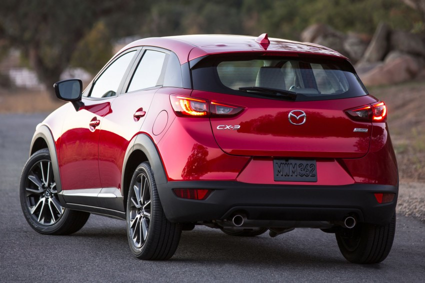 mazda cx 3 new b segment suv officially unveiled image 289172. Black Bedroom Furniture Sets. Home Design Ideas