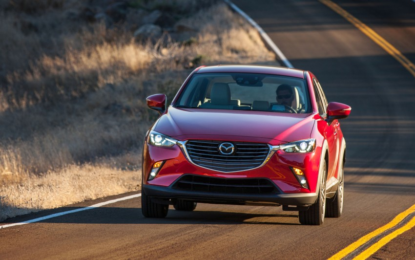 Mazda CX-3 – new B-segment SUV officially unveiled Image #289175