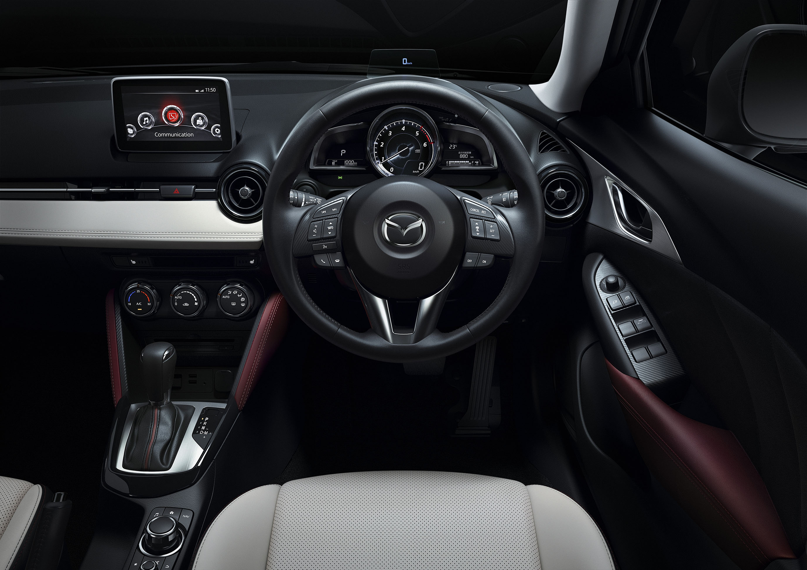 mazda cx 3 new b segment suv officially unveiled image 289177. Black Bedroom Furniture Sets. Home Design Ideas