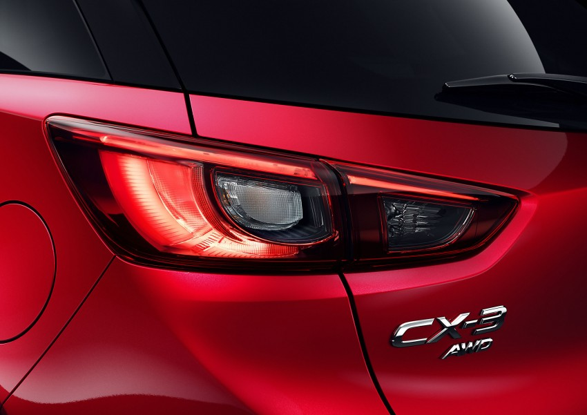 Mazda CX-3 – new B-segment SUV officially unveiled Image #289179