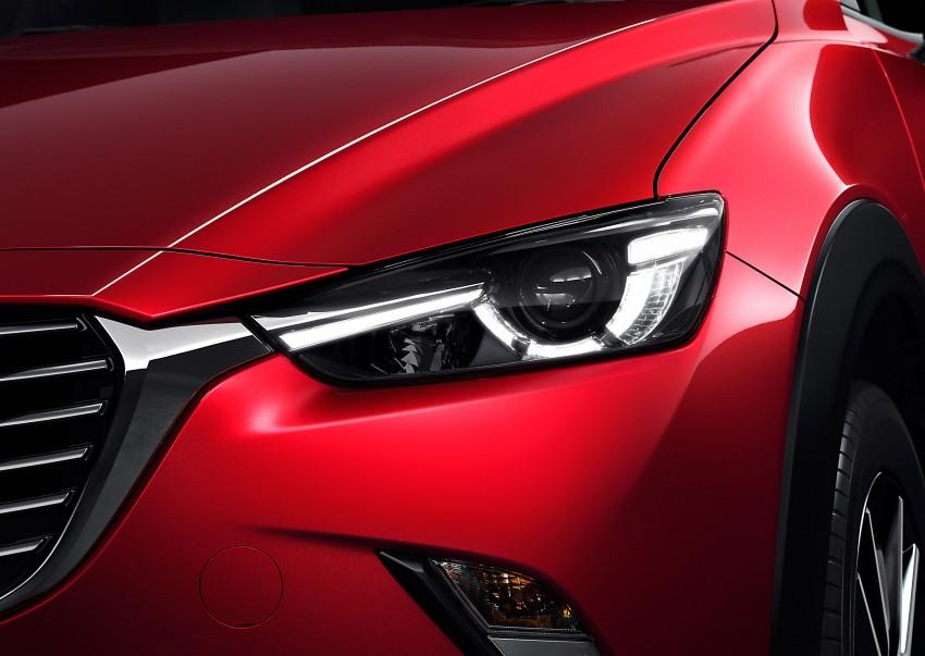 Mazda CX-3 – new B-segment SUV officially unveiled Image #289180