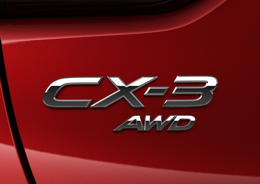 Mazda CX-3 – new B-segment SUV officially unveiled Image #289181