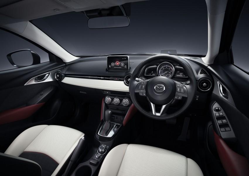 Mazda CX-3 – new B-segment SUV officially unveiled Image #289182