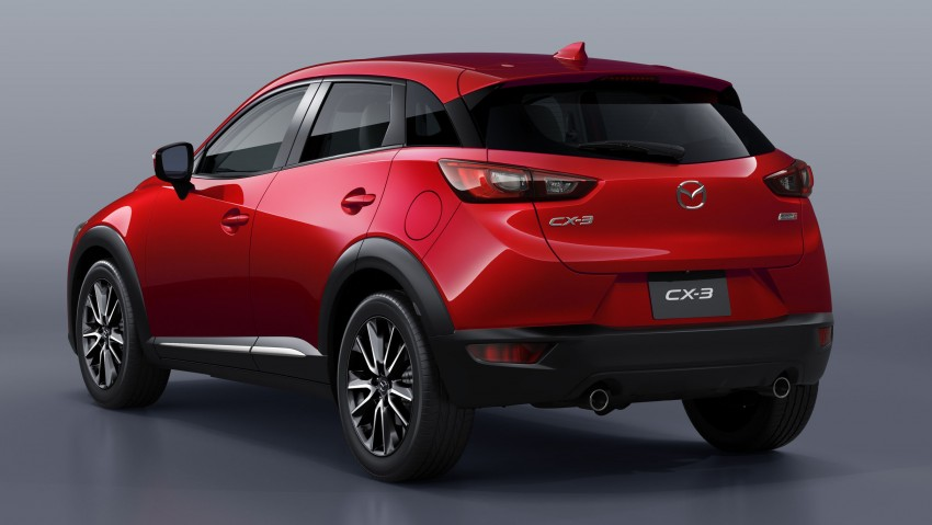 Mazda CX-3 – new B-segment SUV officially unveiled Image #289183