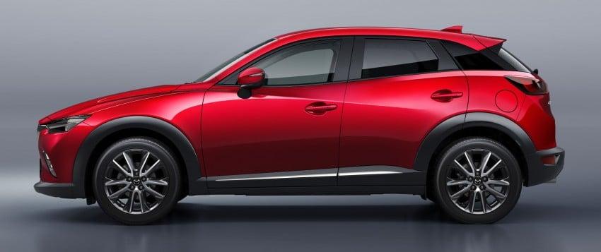 Mazda CX-3 – new B-segment SUV officially unveiled Image #289186