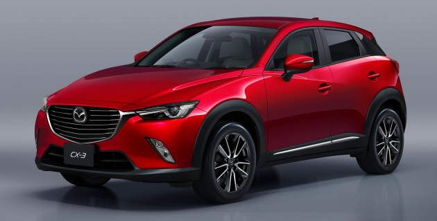 mazda cx 3 to be launched in malaysia in july 2015. Black Bedroom Furniture Sets. Home Design Ideas