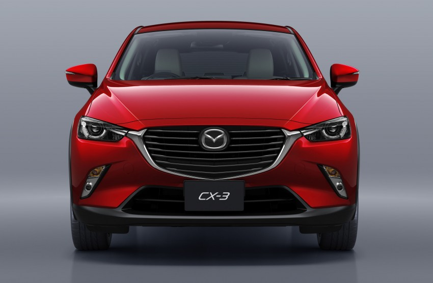 Mazda CX-3 – new B-segment SUV officially unveiled Image #289188