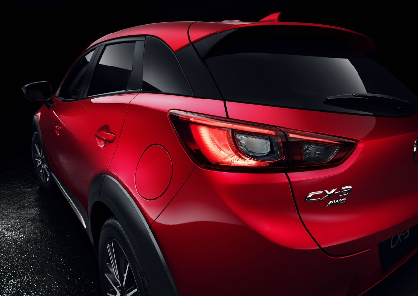 Mazda CX-3 – new B-segment SUV officially unveiled Image #289192