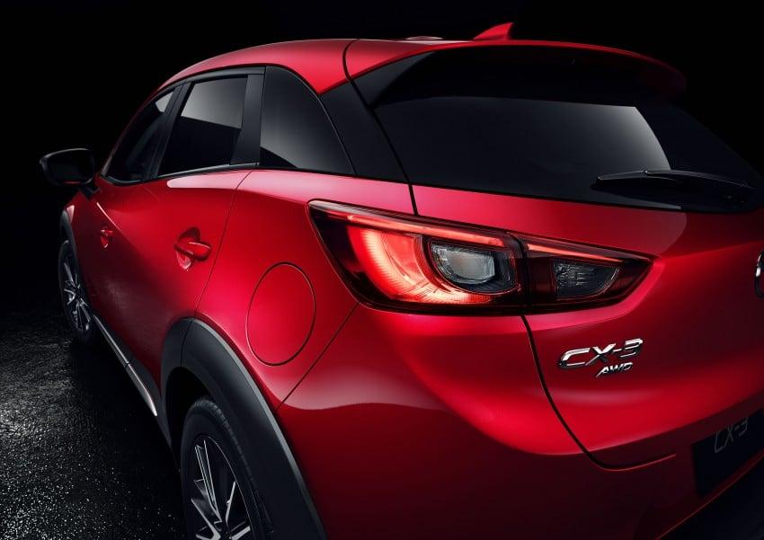 Mazda CX-3 – new B-segment SUV officially unveiled Image #289192
